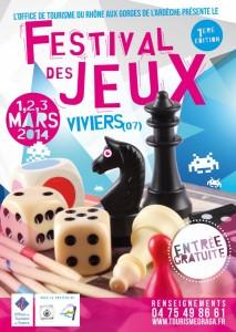 affiche-Festival du jeux viviers