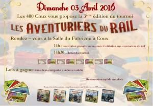Affiche tournoi Rail-les400coux
